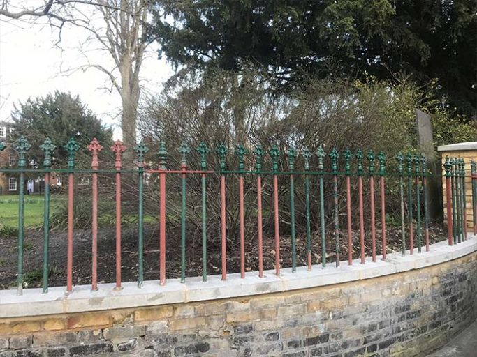 TJC-rusted-railings-for-Serco-completed-in-Canterbury